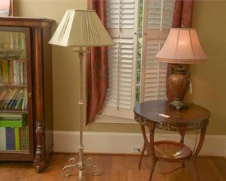 9. Spanish Revival Style Floorlamp