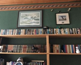 HUGE collection of mid century SCIENCE FICTION books (hard cover). All top shelf and more