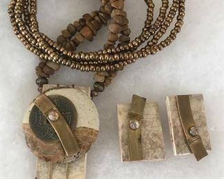 Art jewelry - stone