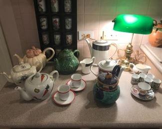 Additional tea pot collection