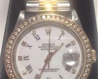 Genuine Rolex Watch