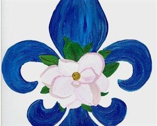 fleur de lis magnolia