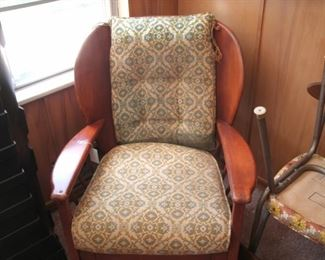 MCM wood chair