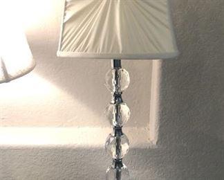 Pretty crystal lamp