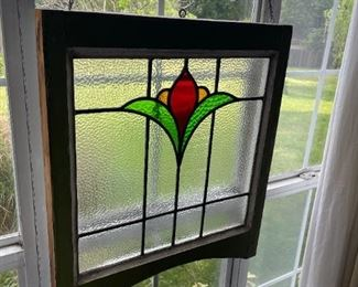 Antique Stain Glass Window