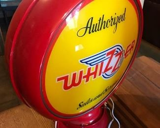 Whizzer Gas Globe (now wired as a light fixture) $ 124.00