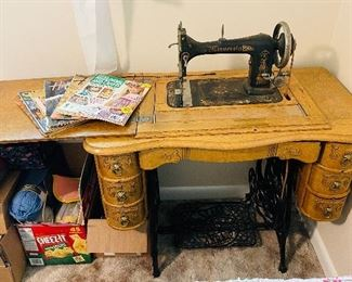Antique sewing machine in wonderful condition