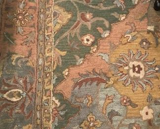 Great rug- 9 feet 3 inches x 13 feet 6 inches