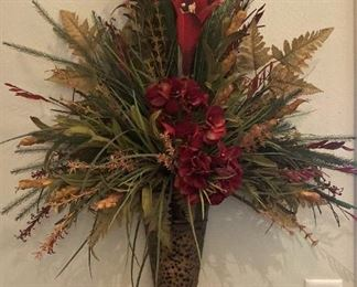One of two matching wall arrangements