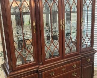 Another fine china cabinet