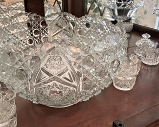 Another wonderful punch bowl & cups