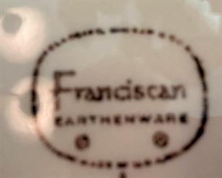 Franciscan Earthenware