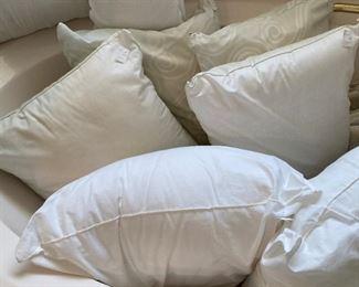 Tub of pillows