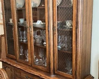 Large china cabinet for storage & display