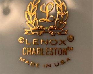 "Lenox ""Charleston"" china - made in the USA"