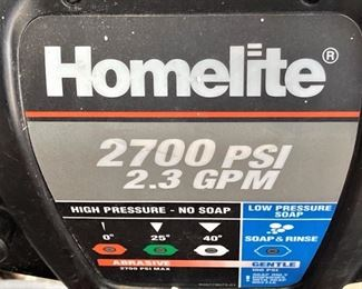 Homelite 2.3 pressure hose