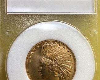 1925 $10 Indian Gold Coin