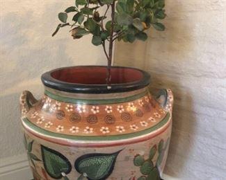 Decorative Painted Southwest Pot