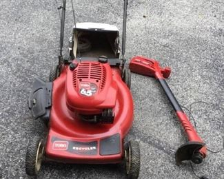 Lawnmower and More