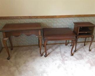 Three Stylish Tables