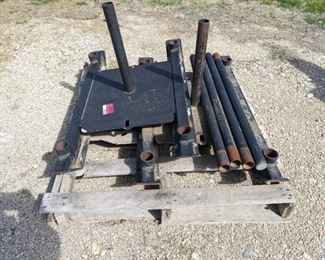 (2) Rogue Weight Sleds Includes Push Bars