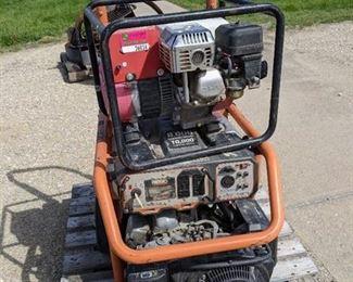 Ridgid 8000 Watt Generator and Honda 1400 Watt Generator