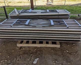 "(13) Aluminum Tables With Folding Legs 30x96"""