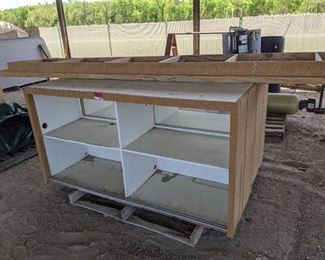 """12Ft x 26"""" Cabinet Section With Base and Countertop"""
