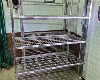 6ft Metal Rack