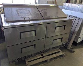 True Refrigerated Prep Table Model TFP-64-24M-D-4