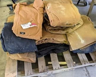 14 Pairs Insulated Coveralls Assorted sizes