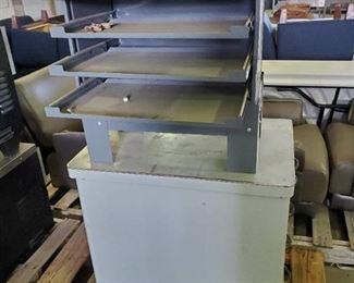 Metal 5 Drawer Cabinet, Metal 4 Drawer Cabinet