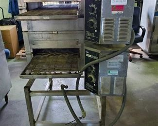Lincoln Impinger Double Stack Conveyor Ovens 1132-000-A