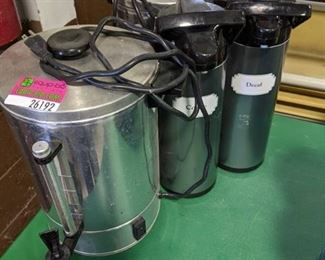 Set of 4 Coffee Carafes