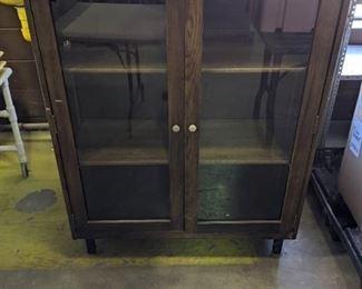 3 Shelf Wooden Display Case
