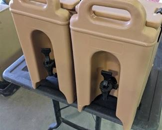 2 Cambro Drink Dispensers