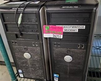 (2) Dell CPUs