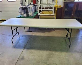 8ft Folding Table