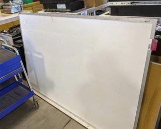 Whiteboard and Cork Board