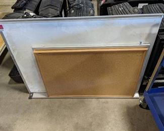 Lot of 2 Cork Boards and 1 White board