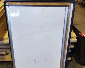 2 Whiteboards, 1 Corkboard