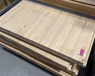 1 Slab of Maple Bowling Flooring