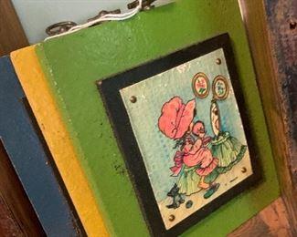 Vintage plaques
