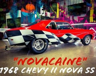 "1968 Chevy II Nova SS ""Novacaine"" 550+ HP Pro Street"