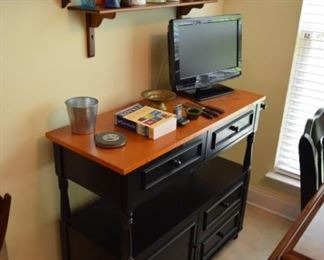 """Two Tone Sideboard/Server 40"""" X 16"""" D X 34"""" T"""