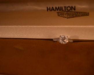Platinum Ring with 2.04 cts. Diamond