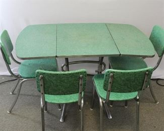 Vintage Mid Century Formica Table & Chairs