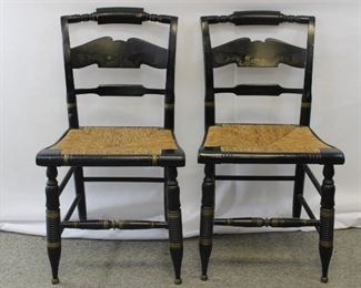 Ethan Allen Hitchcock Chairs