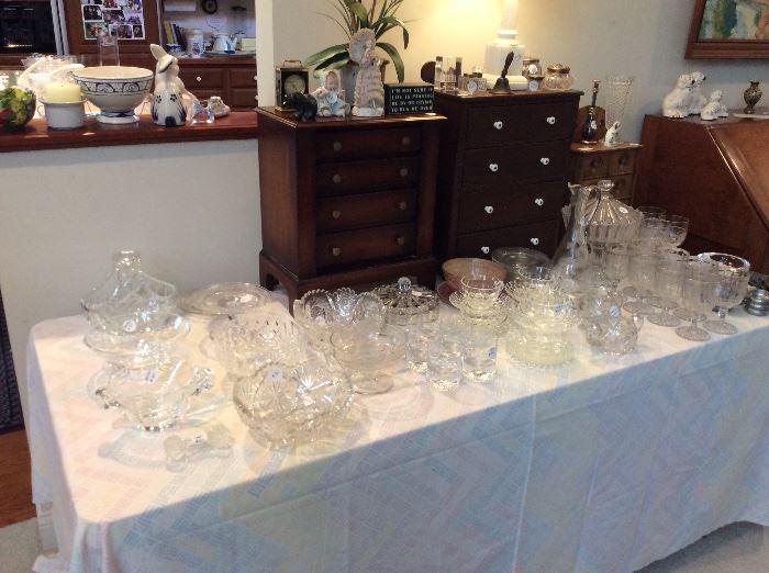 Steuben, Orrefors, Victorian cut glass