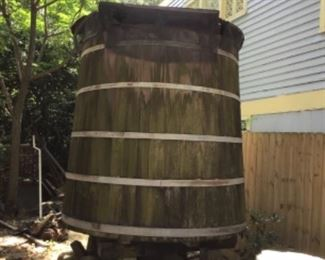 Outdoor Cistern, may take offers, not sure yet.